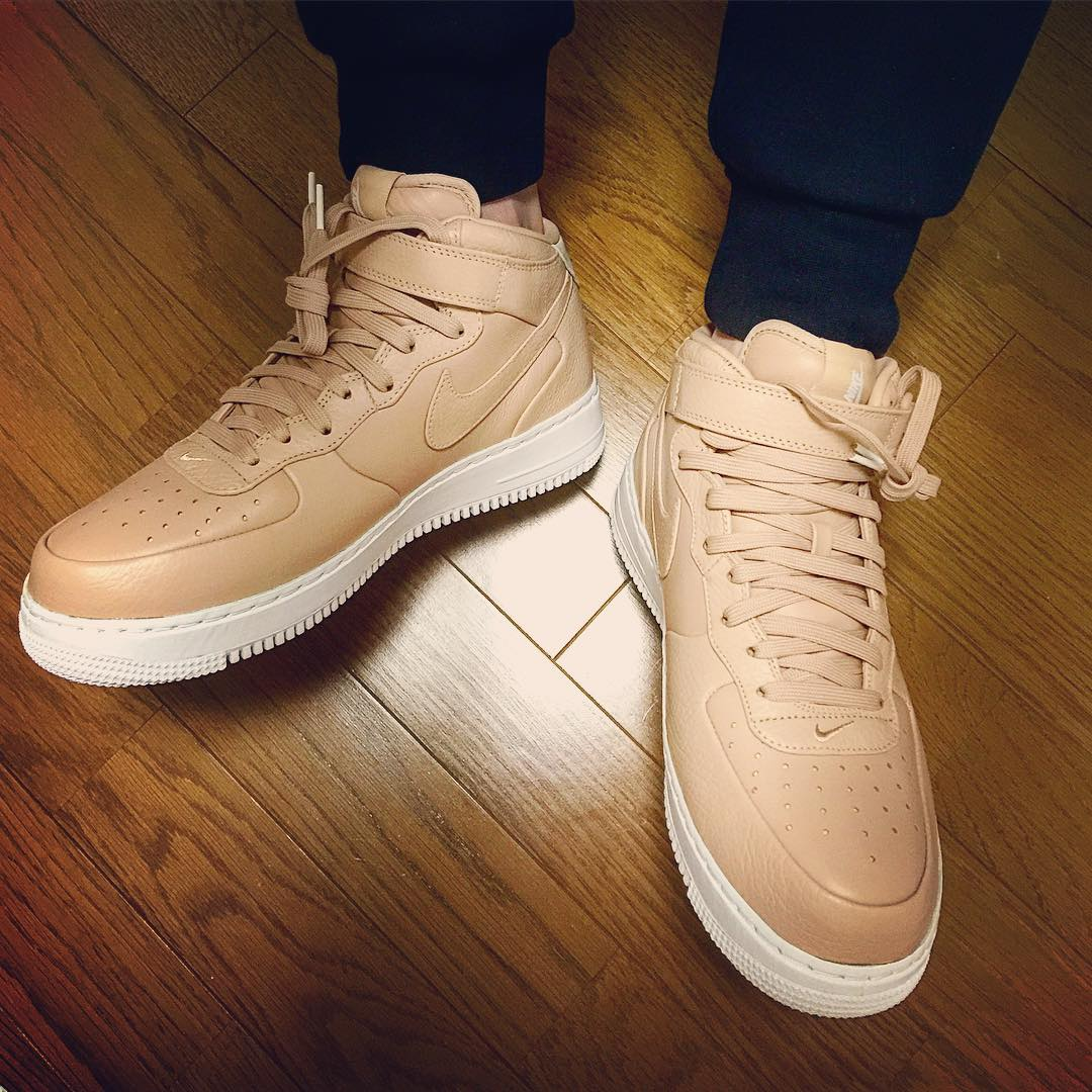 Nike Air Force 1 Tan Timberland Bottes Homme