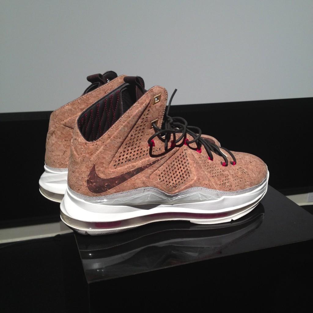 big sale 69d4e 0f04f Nike LeBron X - Cork - Detailed Look