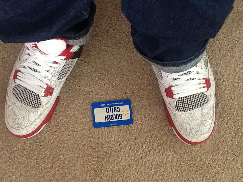Spotlight // Forum Staff Weekly WDYWT? - 11.4.13 - Air Jordan 4 IV Retro Laser by goldenchild9389