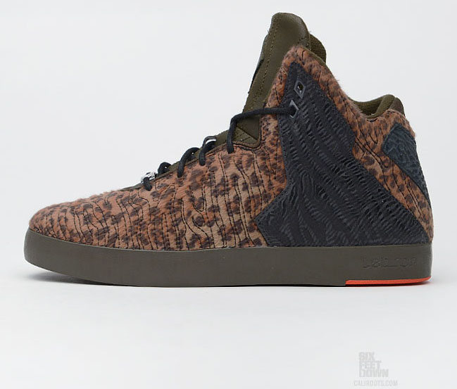 timeless design ab991 fd2b5 Check out yet another leopard print edition of the Nike LeBron 11 NSW  Lifestyle.
