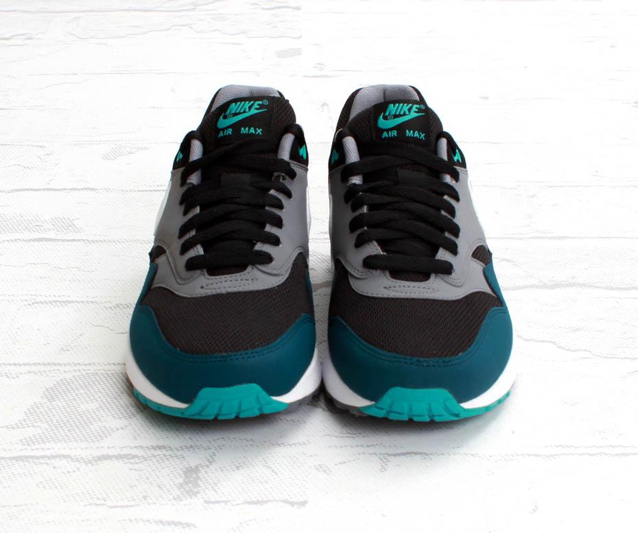 air max 1 essential black mid turquoise