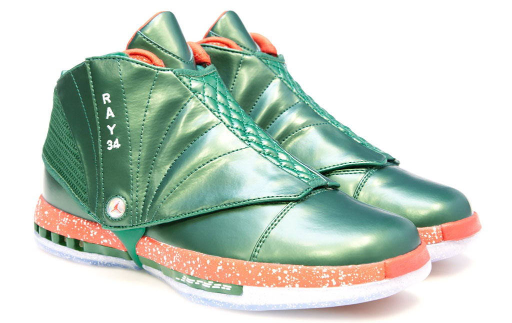 Air Jordan 16 Ray Allen Christmas PE (2)