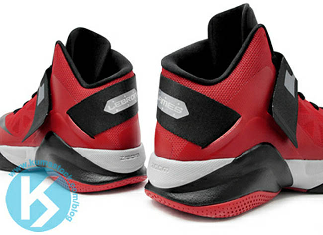 lowest price a729a aca20 Nike Zoom Soldier VI University Red Wolf Grey Black 525015-600 (4)
