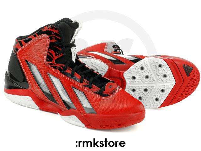 wholesale dealer d58a2 c8e0c adidas adipower Howard 3 Light Scarlet Running White Black G47369 (2)