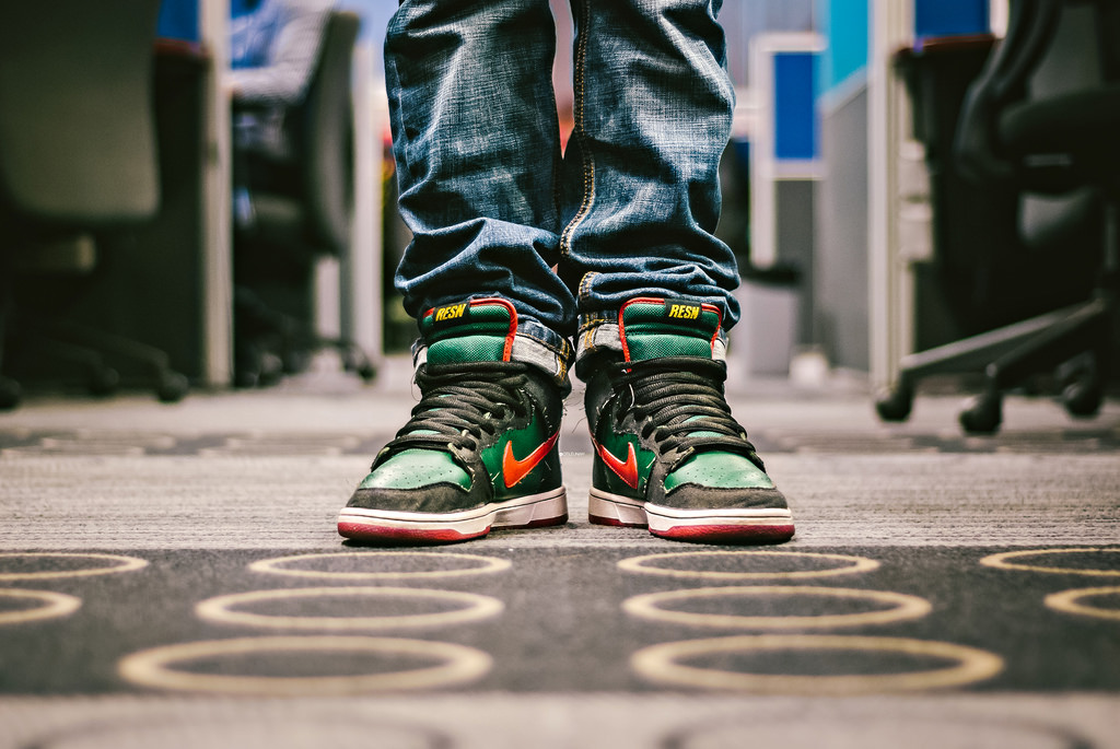 Nike SB Dunk High 'Gucci'