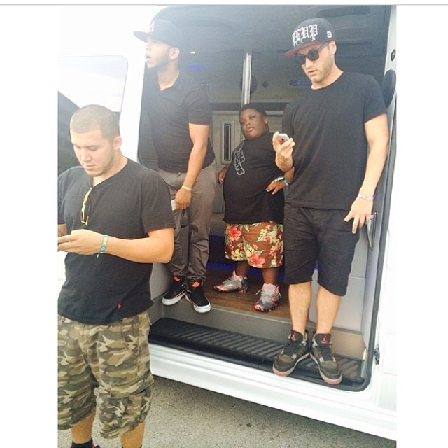 Terrio wearing Nike LeBron XI 11 GS Home 88247f5ce5