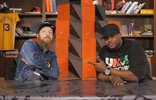 Quickstrike: DJ Clark Kent & Russ Bengtson Talk Air Jordan VIII & Answer I