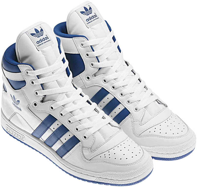 newest 5c5e6 73a7d adidas Originals Decade Hi White Bluebird Lone Blue G50791