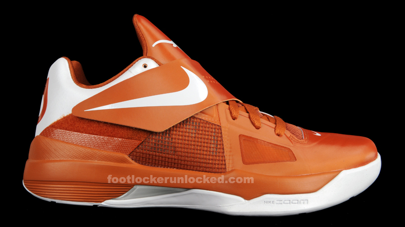 Nike Zoom KD IV Texas Longhorns 473679-801 (1)