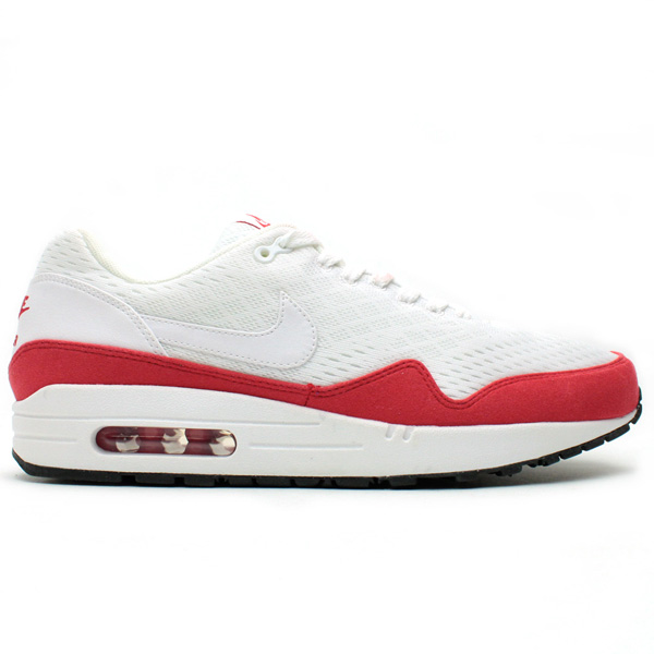 The Nike Air Max 1 Premium EM in White / University Red is expected to drop in January at select Nike Sportswear retailers, including Tokyo\u0026#39;s atmos.