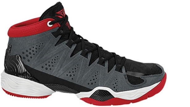 Jordan Melo M10 Anthracite/Gym Red-Black-White