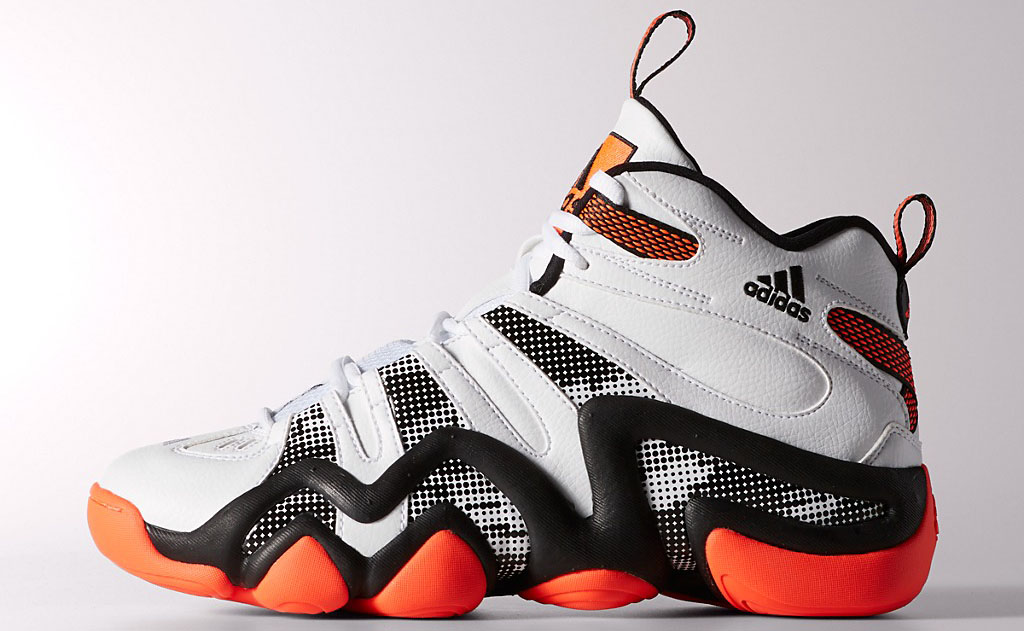 new york 1b068 55b19 adidas Crazy 8 Running White Infrared-Black S84390 (1)