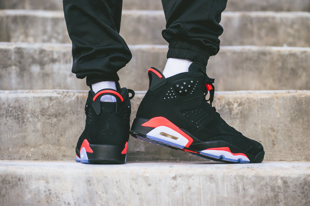nike air jordan 6 retro infrared