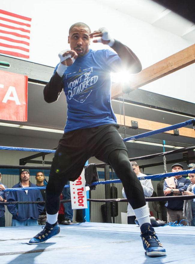 Andre Ward wearing Air Jordan 28 SE Boxing Boot (1)