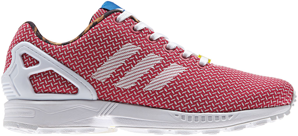 adidas ZX Flux Women's Weave Pack Red (1)