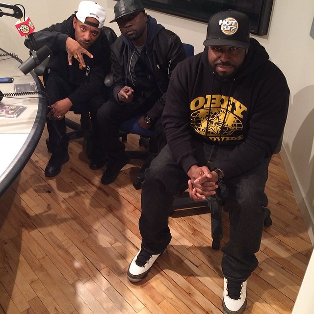 DJ Funk Flex wearing Air Jordan IX 9 Retro Doernbecher