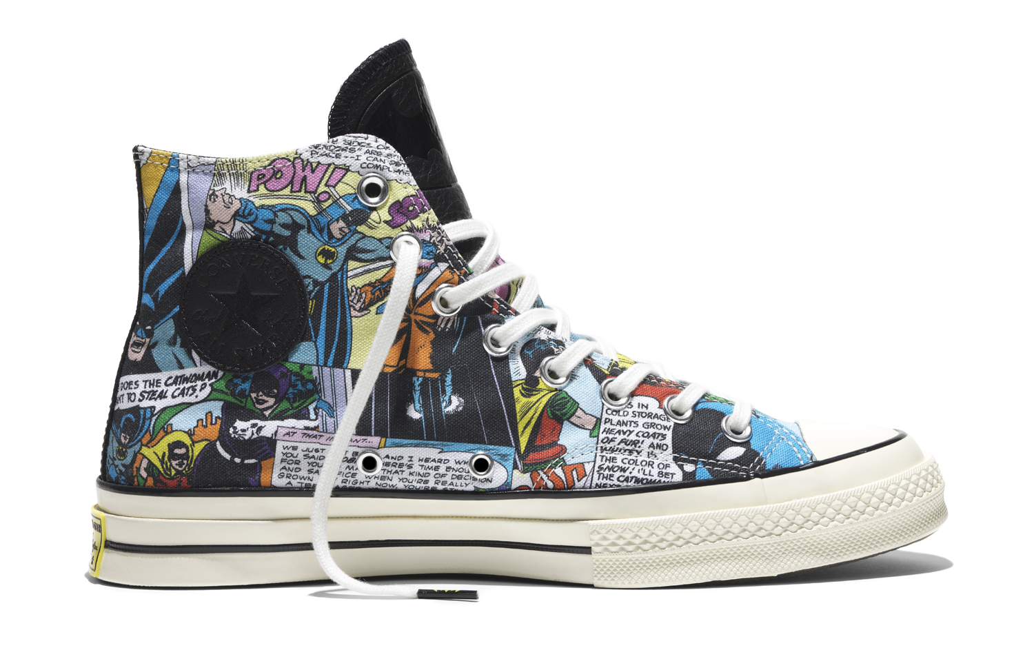 Batman Converse Sneakers Profile