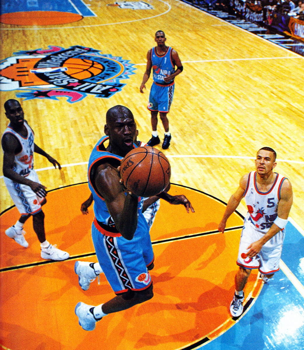 ec0a5119c6a Flashback // The 1996 NBA All Star Game Shoes | Sole Collector