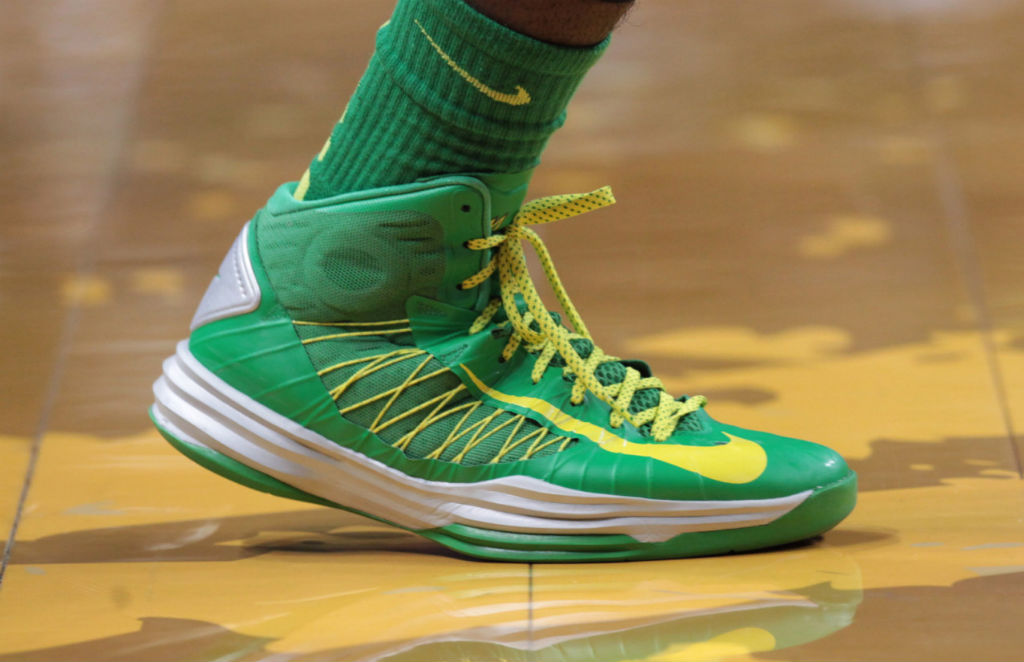 finest selection 3a11d 62cf2 Nike Lunar Hyperdunk 2012 - Oregon Ducks