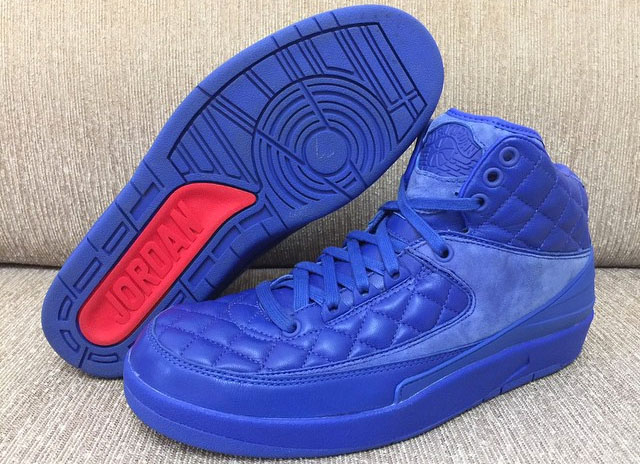 The 'Quilted' Leather Air Jordan 2 May