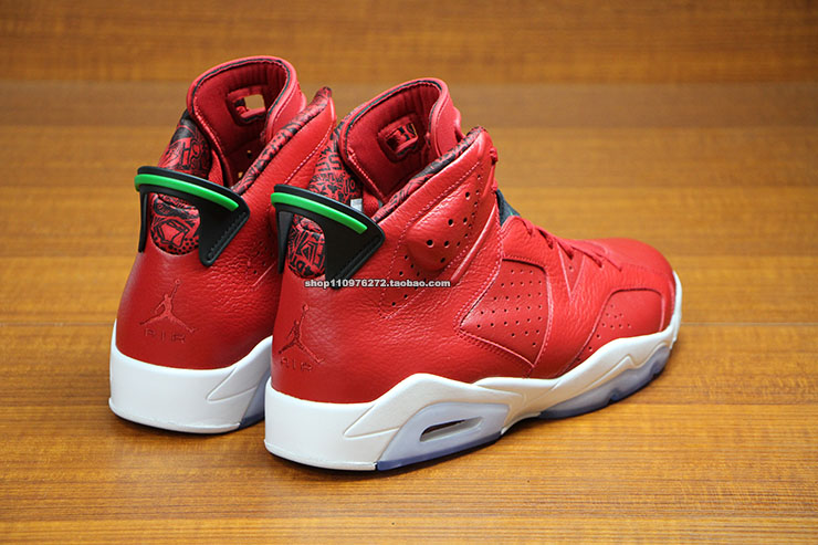 Air Jordan VI 6 Red History of Air Jordan 694091-625 (4)