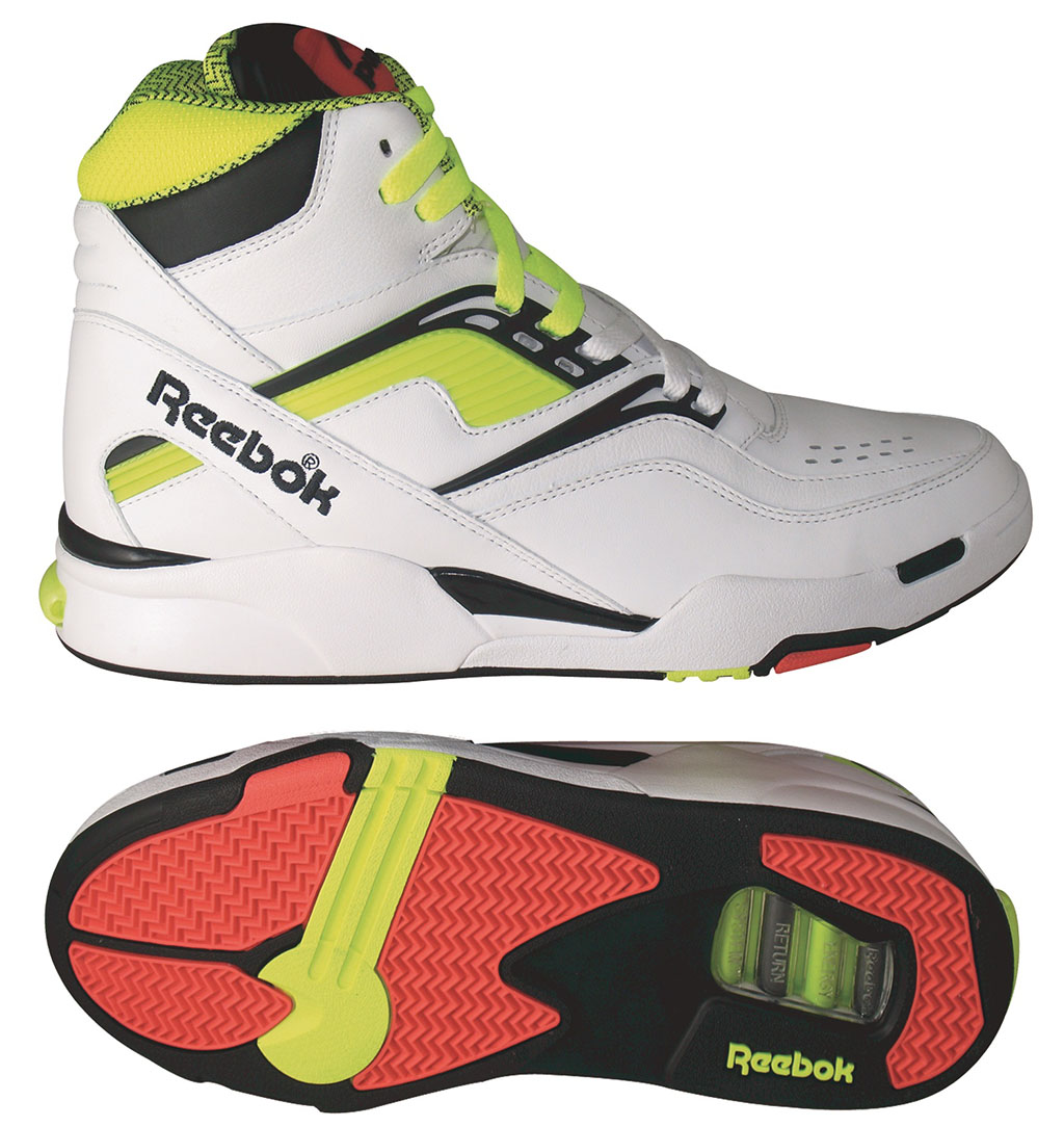 Reebok Twilight Zone Pump - White Neon Yellow - August 2012  62eb22489