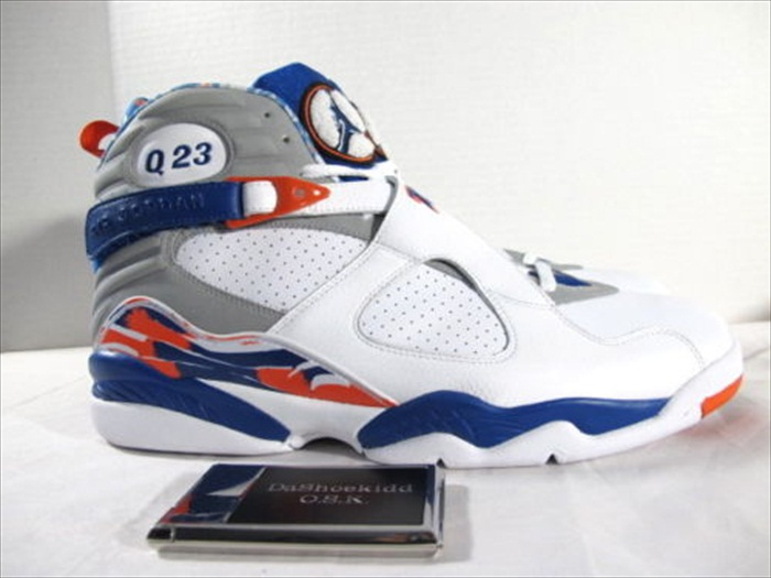 Quentin Richardson wearing Air Jordan VIII 8 New York Knicks Home PE (2)