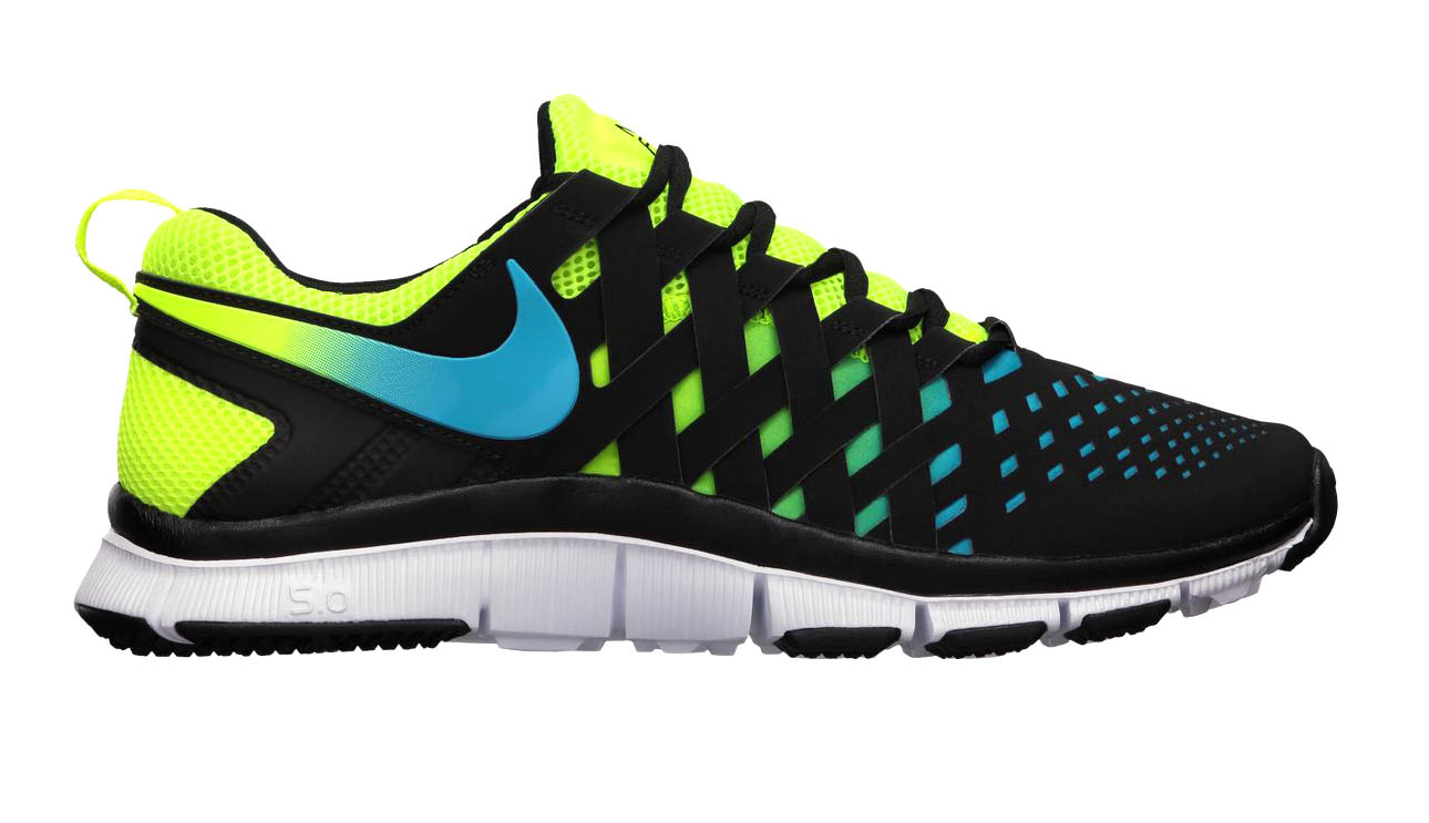 finest selection f459c 81c20 Nike Free Trainer 5.0 NRG -  Volt Current Blue Black