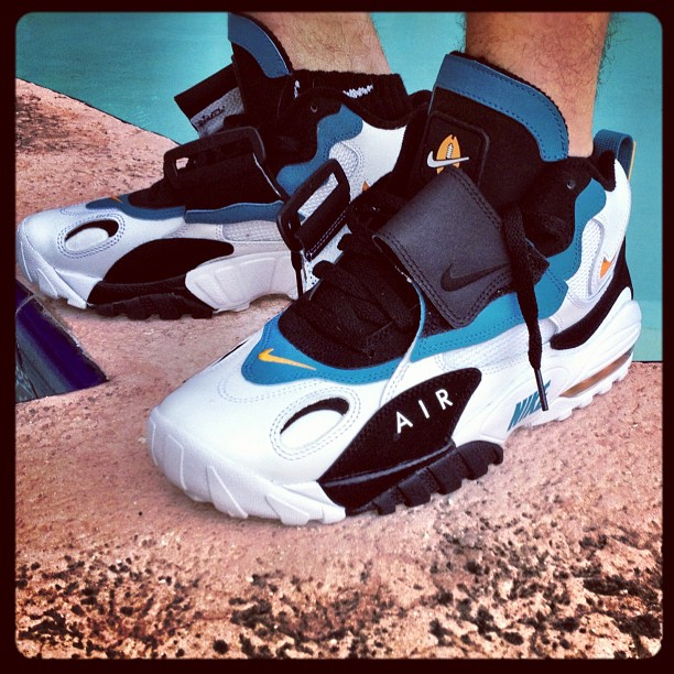 on foot nike air max speed turf quotdolphinsquot retro sole