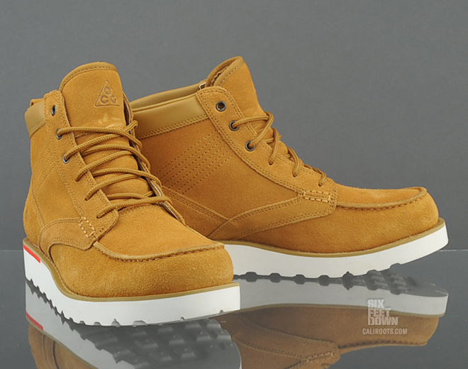 brown nike acg boots