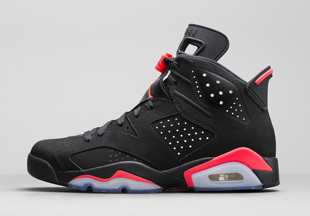 4a0d0867f00e85 An Official Look At Black Friday s Black Infrared 23 Air Jordan 6 Retro