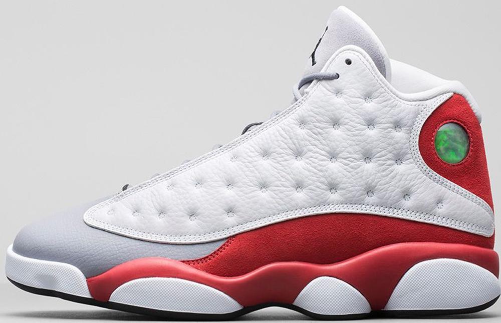 Air Jordan 13 Retro White/Black-Gym Red-Cement Grey