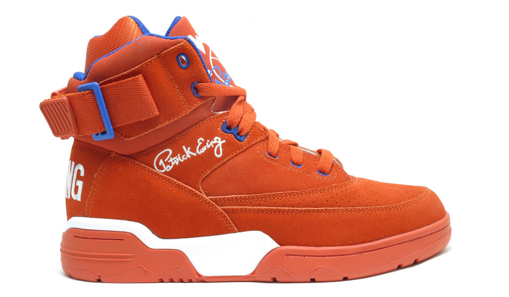 Ewing 33 Hi - NYC Orange Release Information