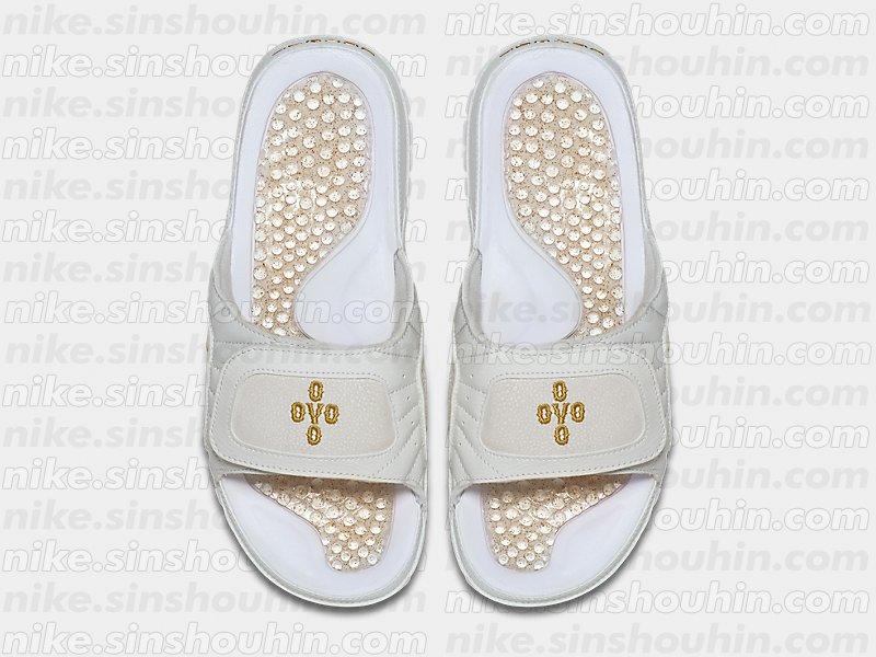 4e313cfe1401d4 OVO Jordan 12 Slides Top