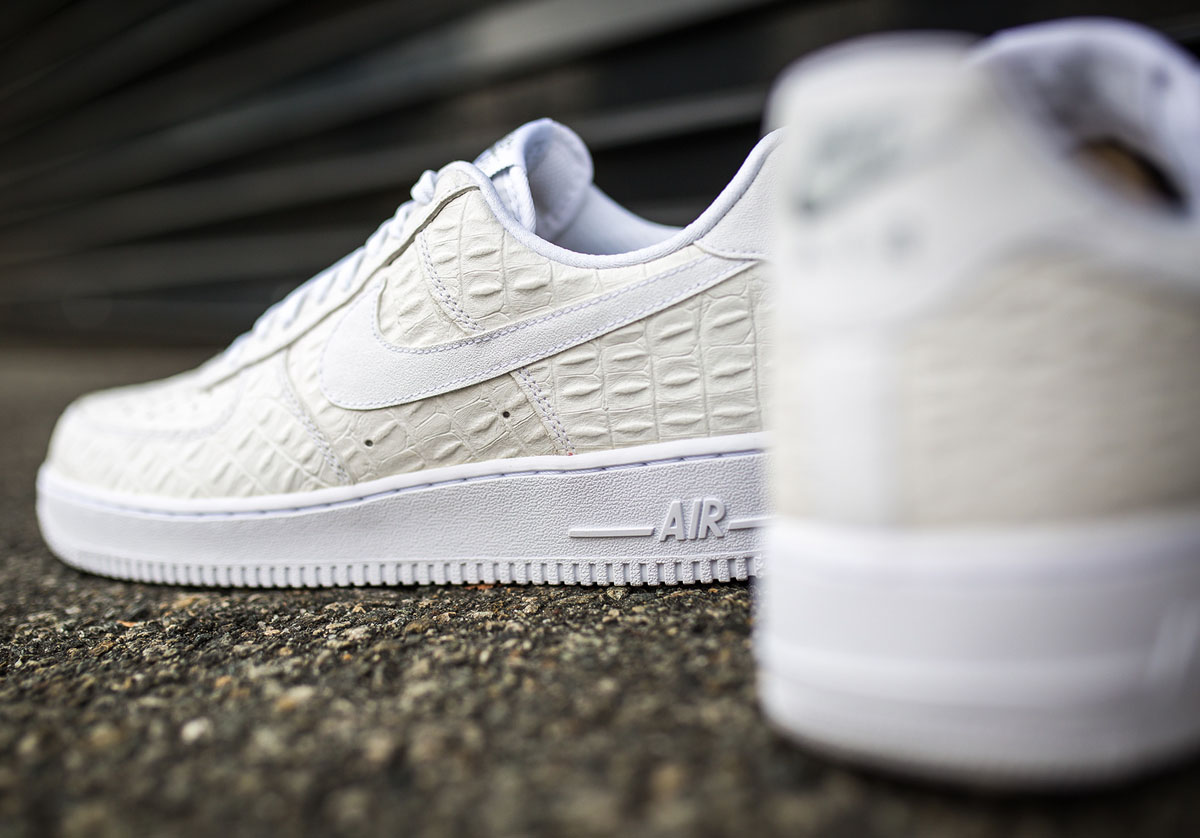 3ce17cf59 Nike Rolls Out a New Air Force 1 Low  Croc  Pack