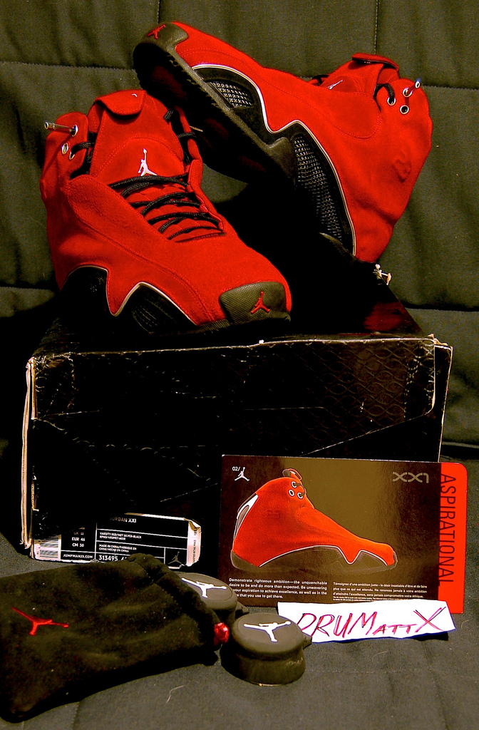 Pickups of the Week // 4.7.13 - Air Jordan XX1 Italian Red by DRUMattX