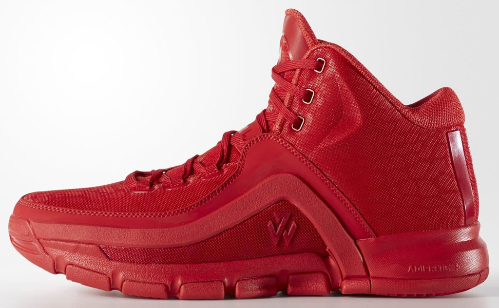 best service 39ea4 53a9f adidas J Wall 2 All Red Release Date (1)