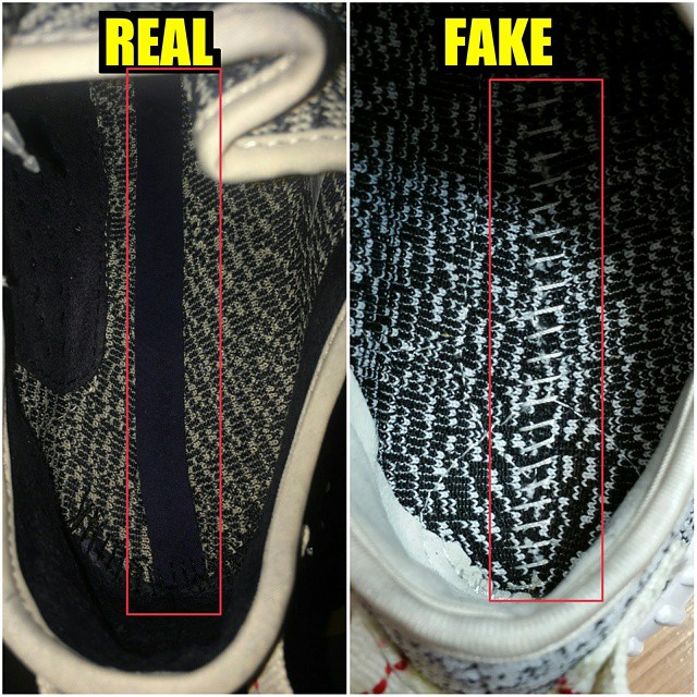 adidas Yeezy 350 Boost Real/Fake Comparison (8)