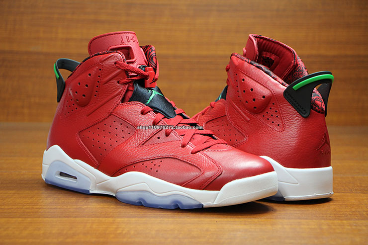 Air Jordan VI 6 Red History of Air Jordan 694091-625 (3)