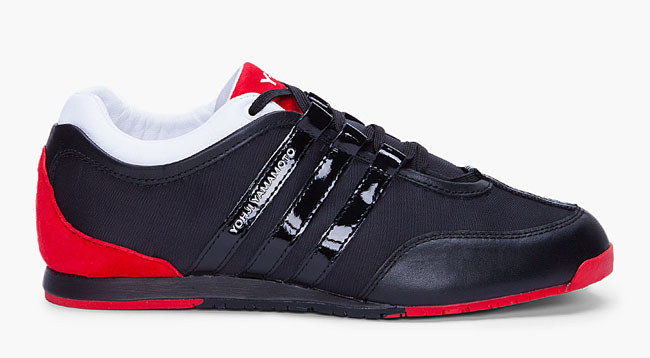 This sneaker from the adidas Y-3 line gives a boxing boot aesthetic to a  low-top silhouette.
