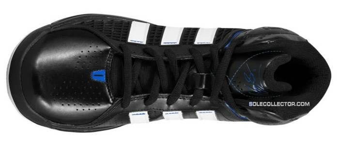 wholesale dealer e1b8c 1742e adidas adiPower Howard Black Running White Bright Blue G20282