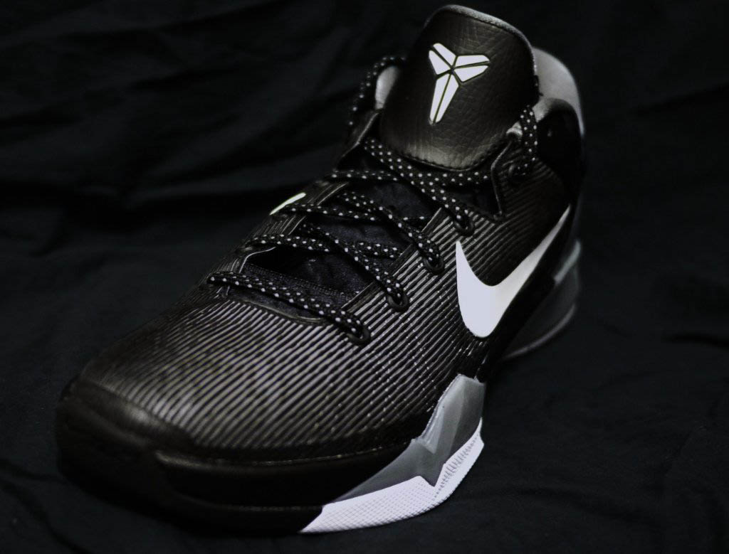 Nike Kobe VII 7 Black White Wolf Grey Cool Grey 488371-001 (2)