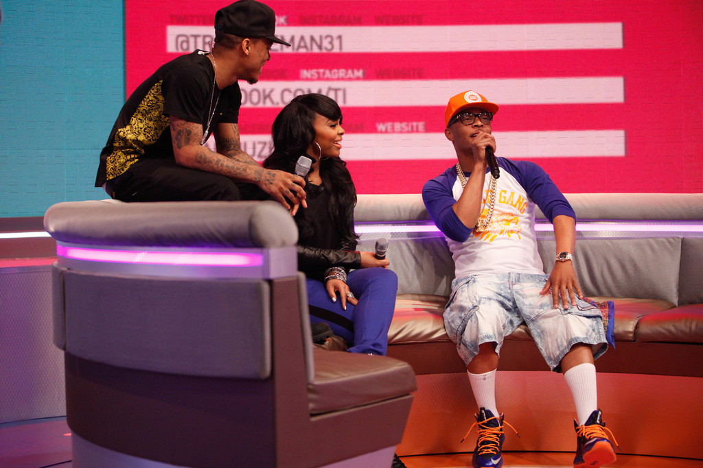 T.I. Wears Nike LeBron X PS Elite Superhero (1)