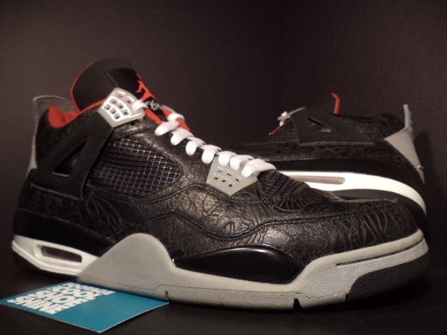 Air Jordan IV 4 Alternate Black Laser Sample (2004)