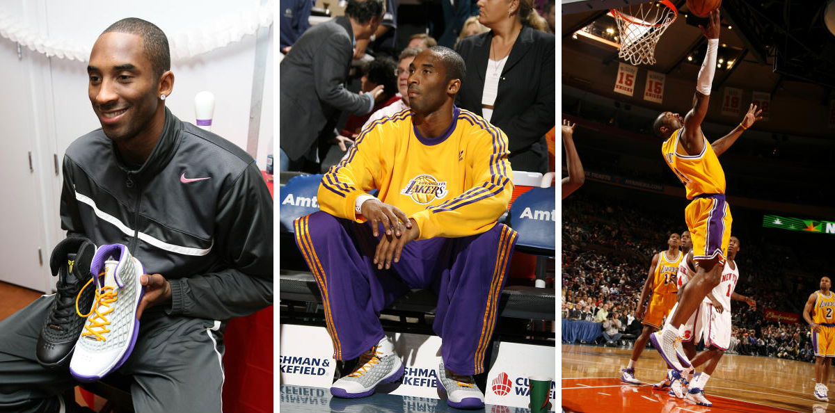 Kobe Bryant Scores 20,000th Point wearing Nike Zoom Kobe III China (1)