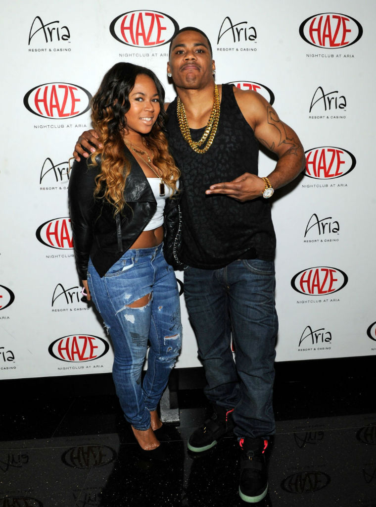 Nelly wearing Nike Air Yeezy 2 II Black Solar Red (3)