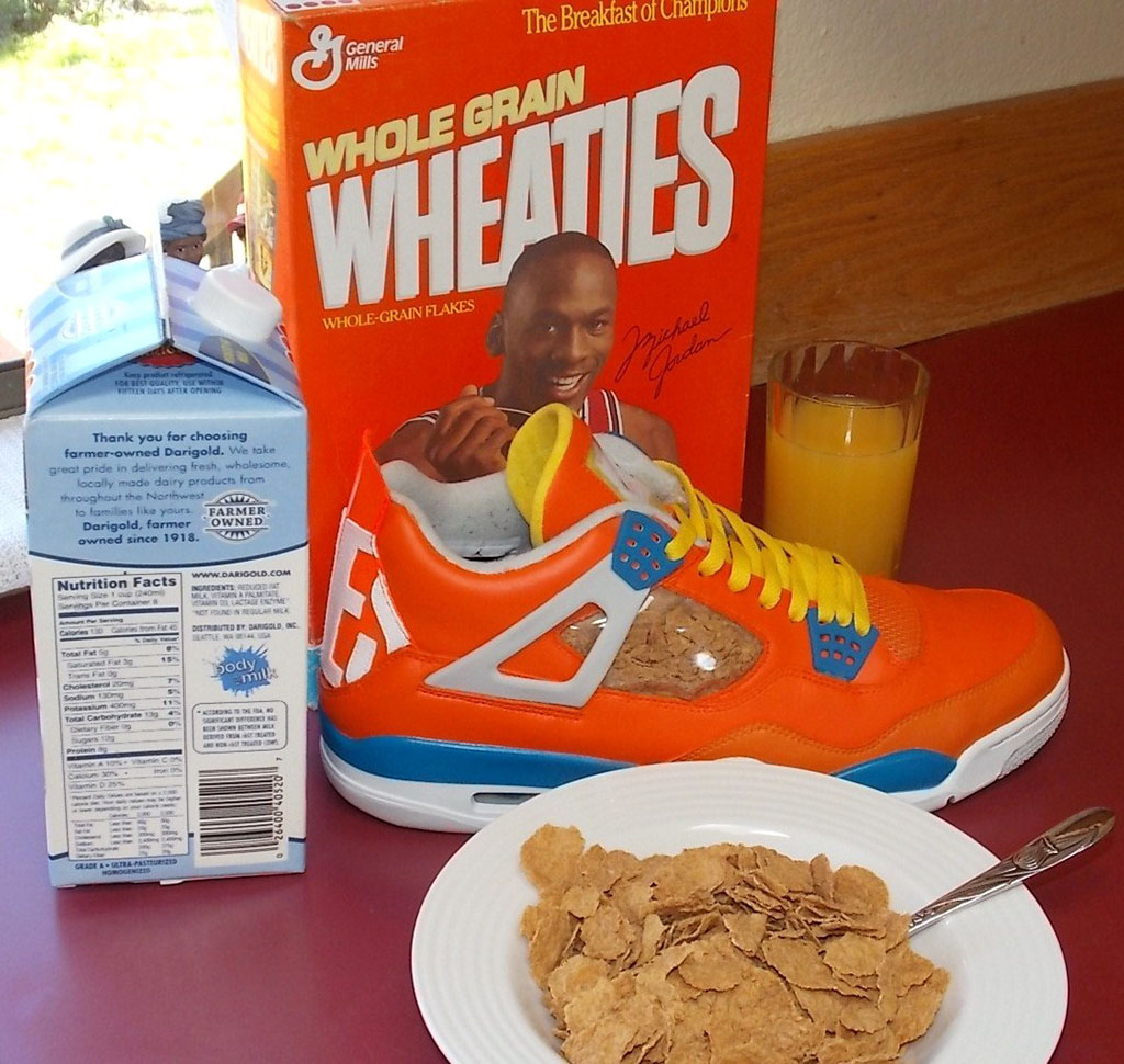 Air Jordan IV 4 Wheaties by emmanueLabor (3)
