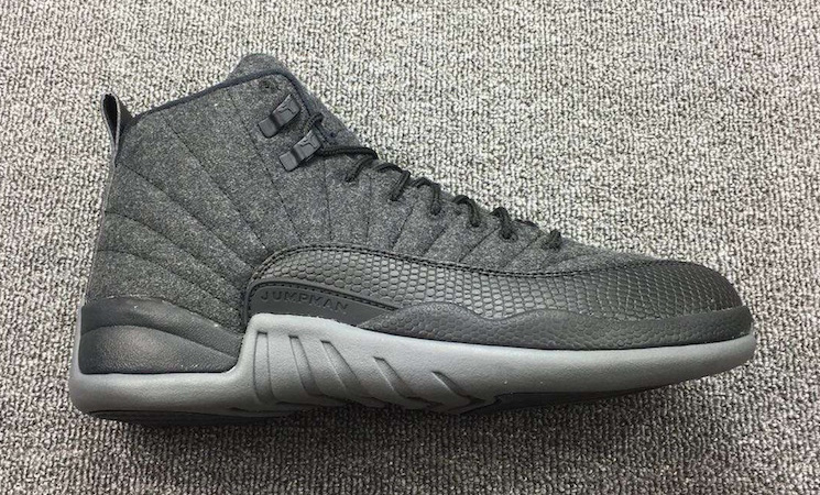 Wool Jordan 12 Profile