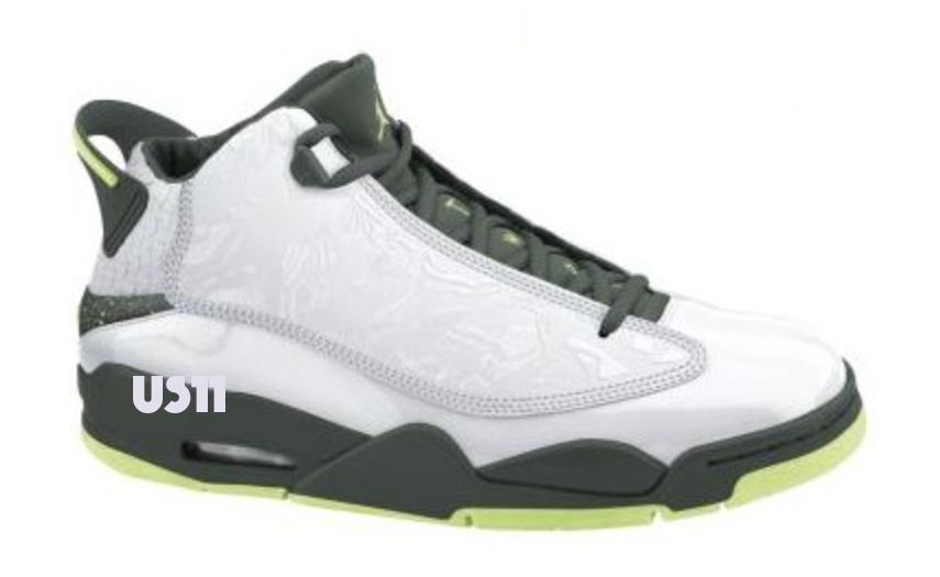Jordan Dub Zero 2016 Green White