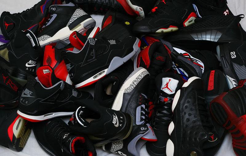 Air Jordan Retro Shoe Collection